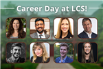 Guest speakers at LCS Career Day