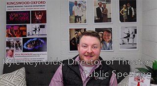 Director of Theater Kyle Reynolds
