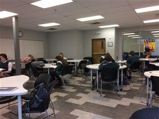 Indian Creek Math Team Takes on the AMC 10/12