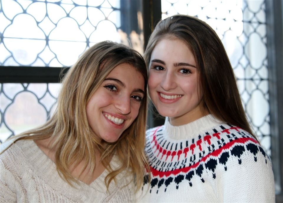 Emma juniors Mimi L. and Ava T.  aim to make a difference for LLS research