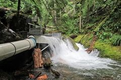 An example of the small hydropower projects (SHPs) discussed