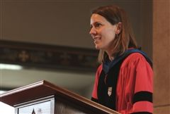 Dr. Meredith Legg shares habits of an intellectual life at Convocation