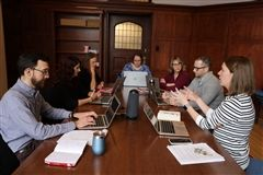 Department chairs discuss online learning
