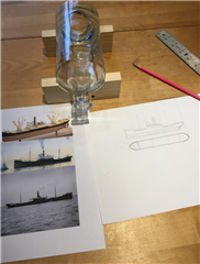Building a Ship in a Bottle - Prepare to Carve the Hull