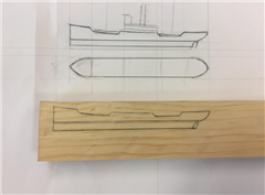 Building a Ship in a Bottle - Carving the Hull