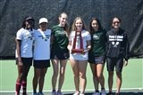 The Pine Crest School girls' tennis team.