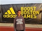 Tsion Yared '20 at the Adidas Boston Boost Games