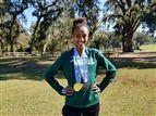 Tsion Yared '20 at the FHSAA Cross Country State Championship Meet