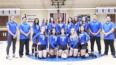 Girls Varsity Volleyball Team