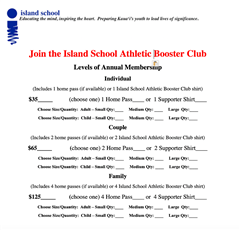 Join Booster Club Today!