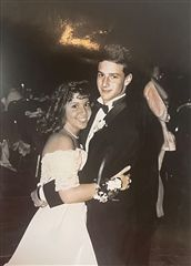 Andrew '92 and Maria '92 Yonkus at Prom
