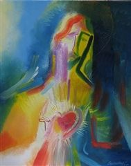 Sacred Heart of Jesus by Stephen B. Whatley