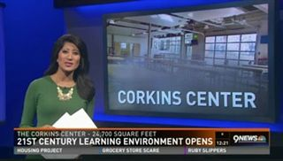 9News: Corkins Center Grand Opening (Oct. 19, 2016)
