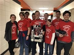 Congratulations to the following FTC team members: Hanna Spicknall, Josie Henderson, Sam Koyfman, Jon Bazov, Caleb Frey, Chris Day, Logan Ader, Kyle Taylor, and Christian Jerez-Roemer.