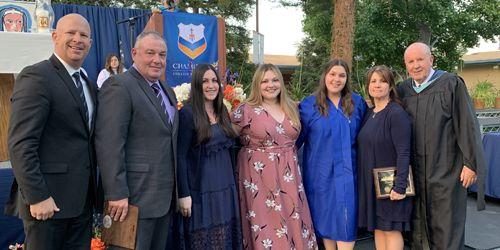 Chaminade Honors 11 Families with The Family of Mary Award