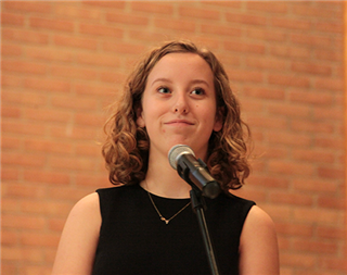 Molly Davis `22 Named Finalist in Statewide Vocal Competition