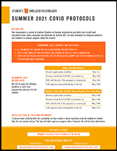 Students Shoulder-to-Shoulder Summer 2021 Deadlines