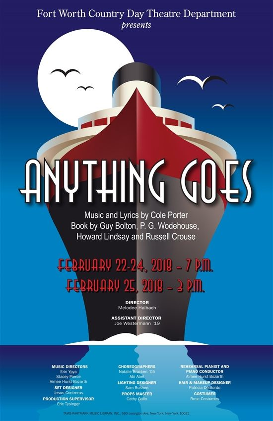 Purchase Anything Goes Tickets Online