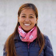 Sonam Sherpa, a leader of The Small World, shared her inspiring story.