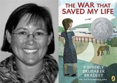 Author Kimberly Brubaker Bradley (The War I Finally Won, The War that Saved My Life) will be on campus Friday, March 29.