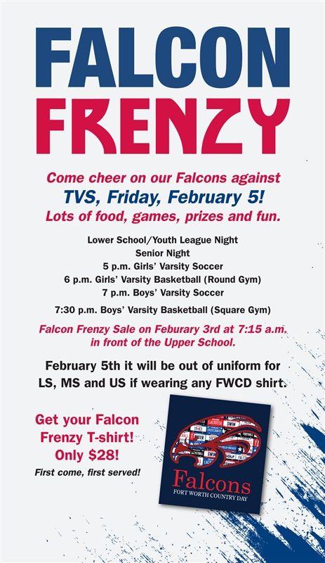 It's Falcon Frenzy!