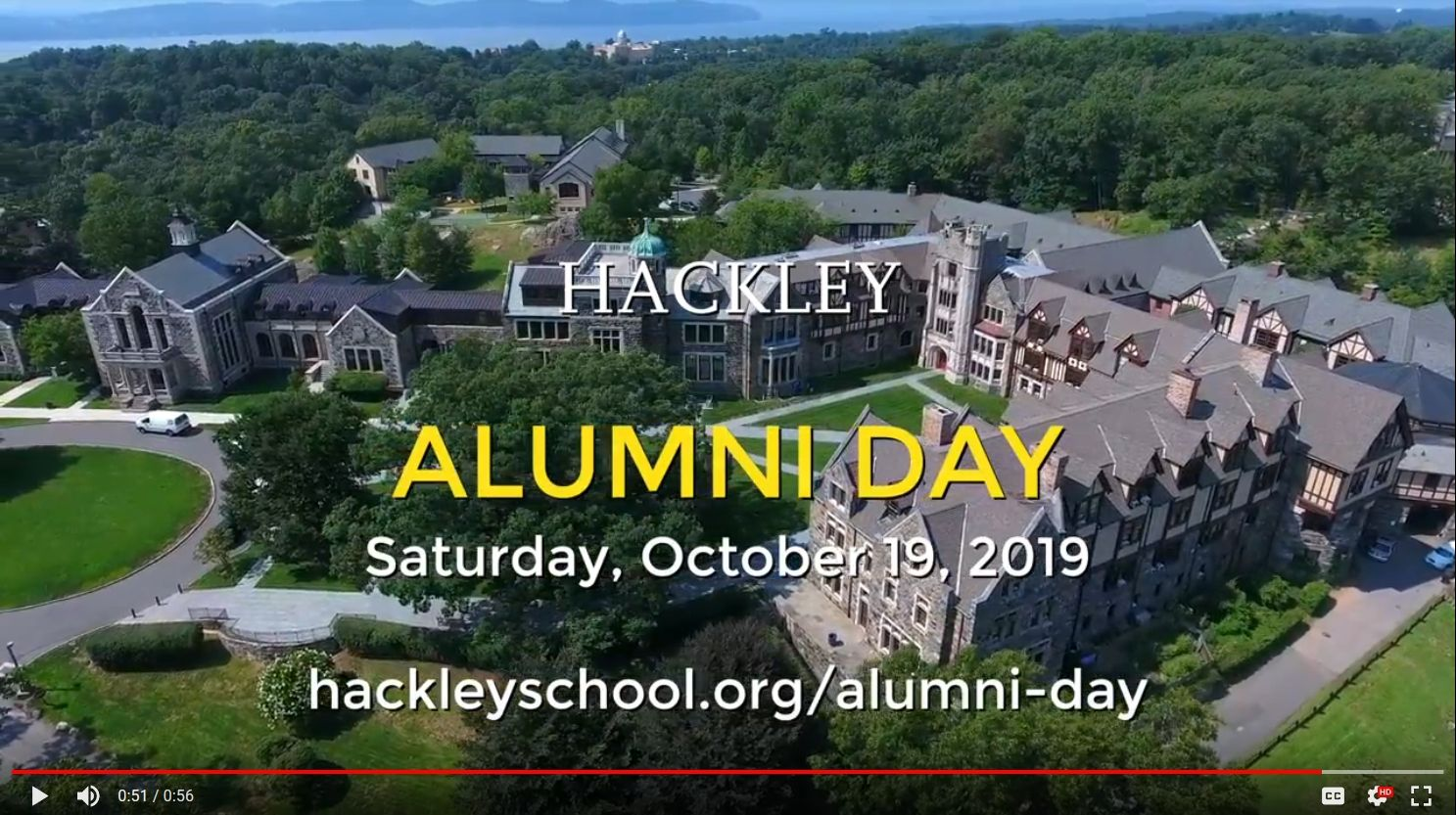Alumni Day 2019 Welcome Video