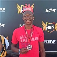 Onye Ohia- Enyia '18, All American for the 2017 Outdoor season