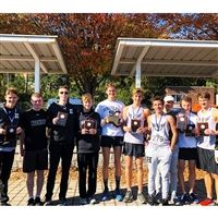 Five of Hackley's ten runners finished in the top 15.