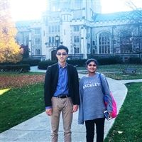 Daniel Zhang '22 and Arushi Chandra '23