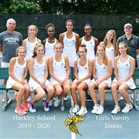 The 2019 Girls Varsity Tennis Team.