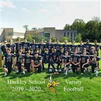 The 2019 Hackley Football Team.