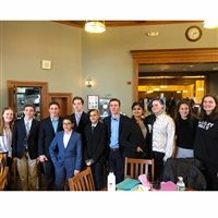 Hackley Parliamentary debaters competed at our 3rd High School Public Debate tournament.