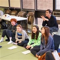 "Elizabeth Anne Smith designed her residency on ""the actor in response"" with the students."