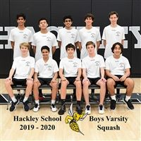 Hackley Boys Varsity Squash 2019-20