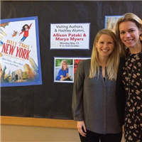 Marya Myers '03 and Allison Pataki '03.