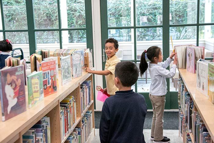 Clairbourn's Library has over 15,000 volumes and extensive pre-filtered, age-appropriate on-line resources.