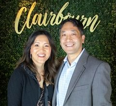 New Clairbourn Trustee Debbie Chen with Chris Chen