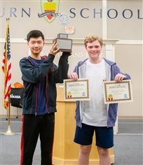 Austin H. and Matthew R. were named the Overall Design Challenge Winners.