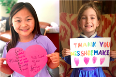 Grateful Clairbourn students made special thank-you cards to honor and appreciate their hard working teachers during Teacher Appreciation Week in May.