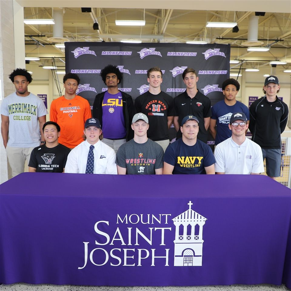 Mount Saint Joseph Division I Student Athletes, Class of 2019