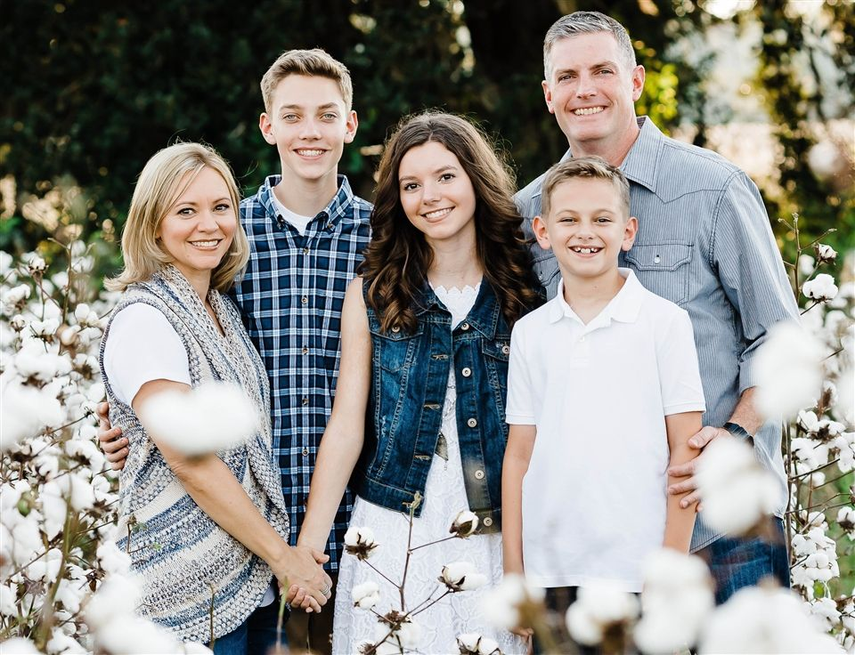 Benedictine Military School Senior Army Instructor LTC Stephen Suhr and his wife, Laurisa, have three children: Alivia, 17, Joseph, 16, and Jake, 10.