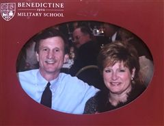 "Mr. Fretwell Goer ""Buzz"" Crider, Jr., Benedictine Military School Class of 1971, and his wife, Sandy, made the ultimate legacy gift by joining BC's 1902 Heritage Society."