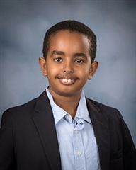 Bethuel '27 took second place in Norfolk Collegiate's middle school spelling bee in January 2021.