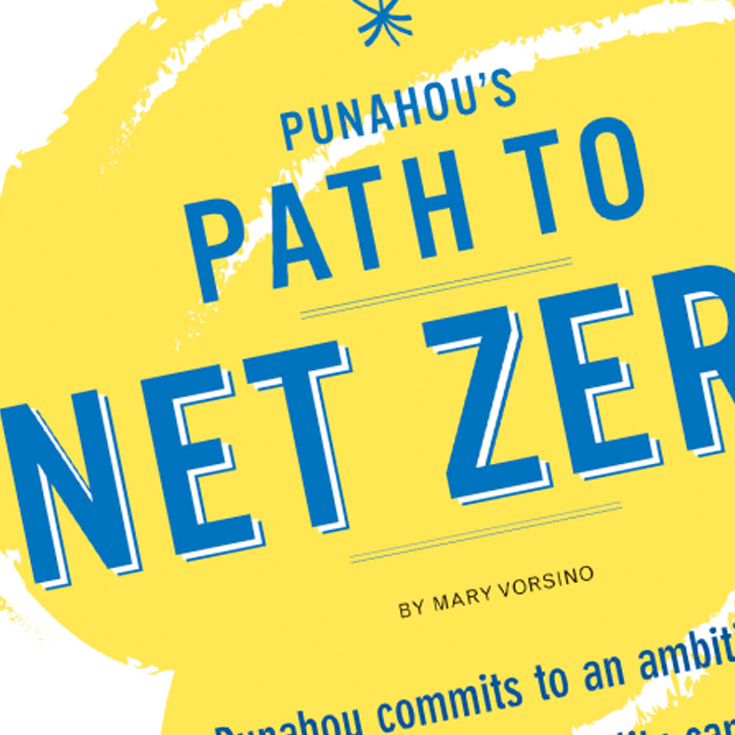 Punahou's Path to Net Zero