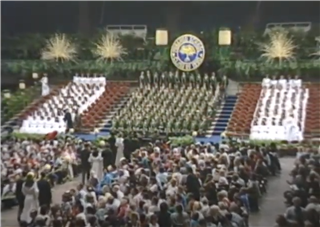 1990 Punahou School Commencement Ceremony (June 2, 1990)