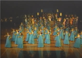 1990 Punahou School Holoku Pageant (May 5, 1990)