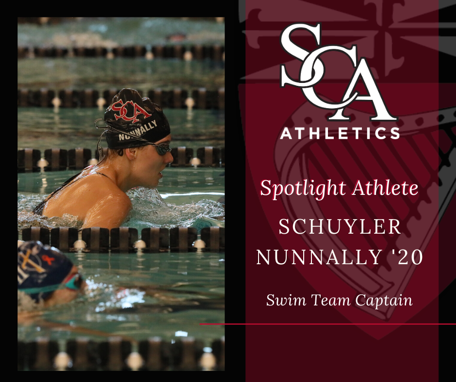 Schuyler Nunnally - Swim Team Captain