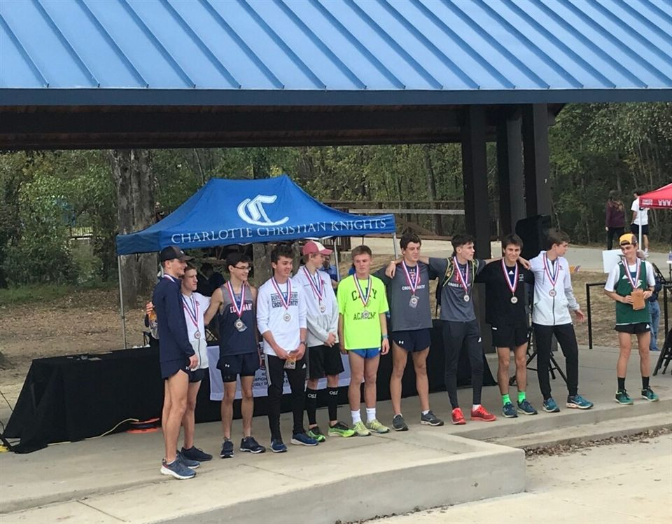 Boys all-state runners