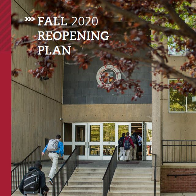Fall 2020 Reopening Plan