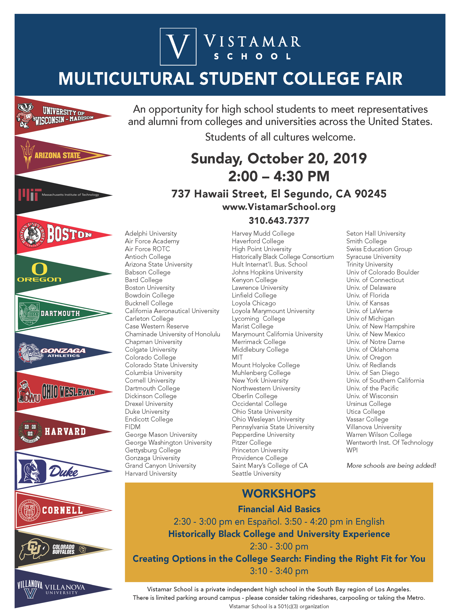 Multicultural College Fair 2019